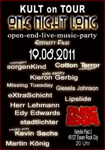Kult on Tour - One Night Long am 19.08.2011