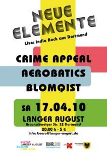 Neue Elemente - Indierock aus Dortmund