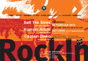 Rock In Flyer via rock-in.de
